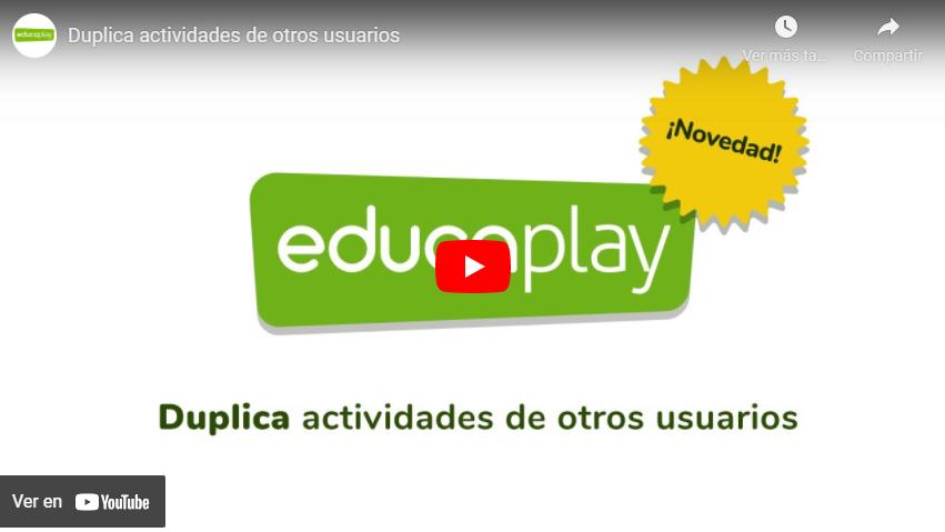Video duplica actividades de otros usuarios